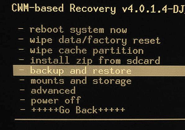 кастомное Recovery андроид