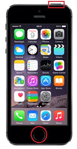 комбинация для скриншота на iPhone