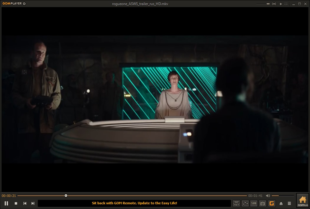 mkv видео в GOM Player
