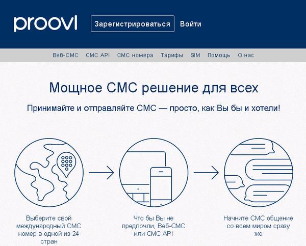 Виртуальные номера россия смс