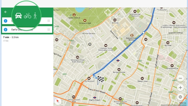 карта в Maps me
