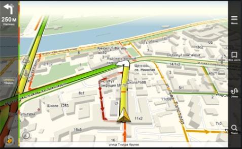 маршрут в Яндекс Навигатор