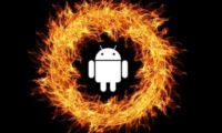 перегрев android