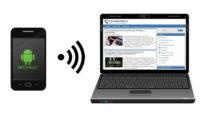 подключение интернет к компьютеру через андроид телефон