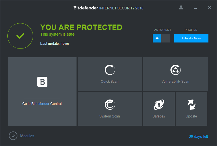 антивирус Bitdefender Internet Security