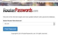 пароли роутеров