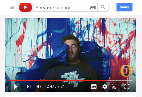 замедленное видео