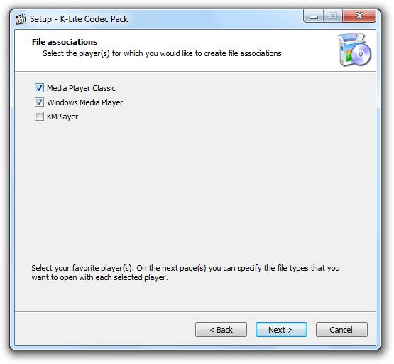установка ассоциации файлов