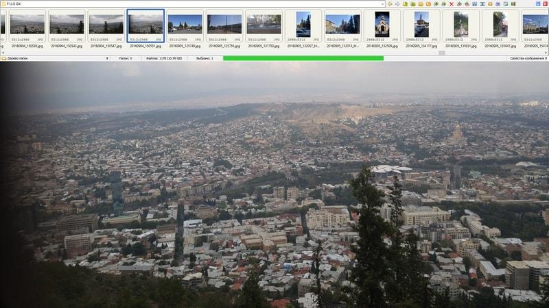 выбор фото в FastStone Image Viewer