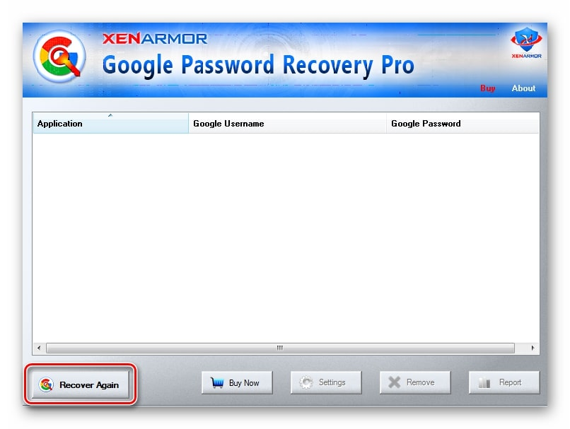 Google Password Recovery Pro