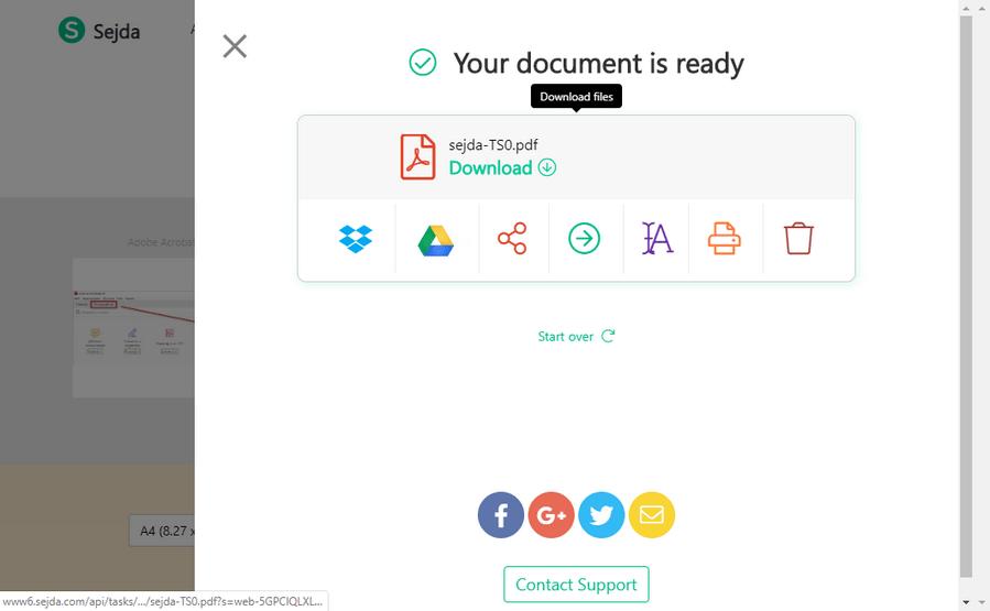 документ создан