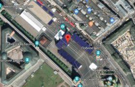Красная площадь на google карте