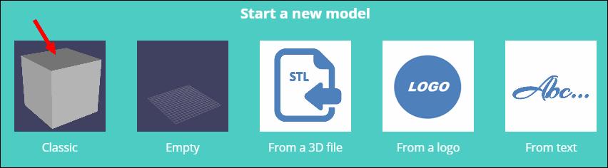 start a new model