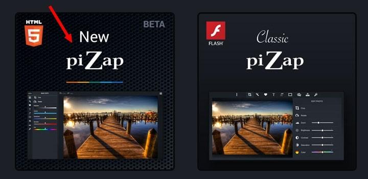 new pizap