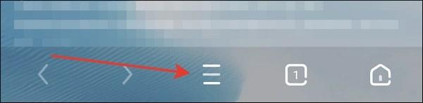 кнопка в виде горизонтальных линий