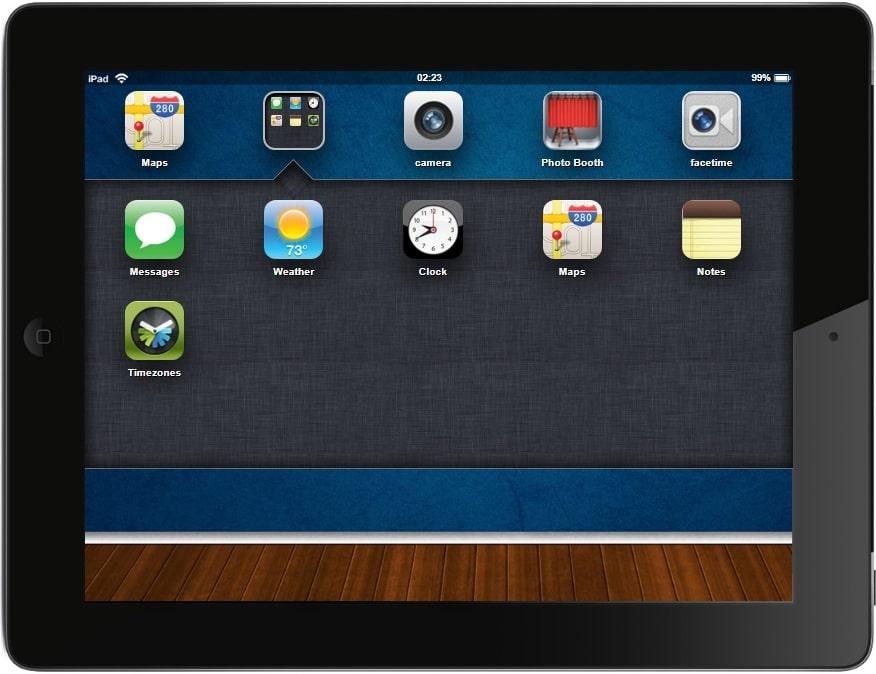 iPad 2 simulator