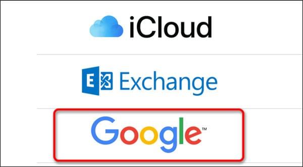 google в списке