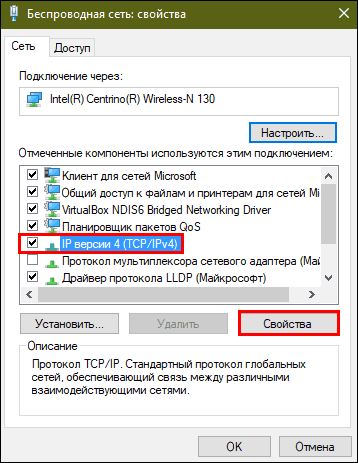 ip версии 4