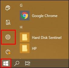 меню пуск Windows 10