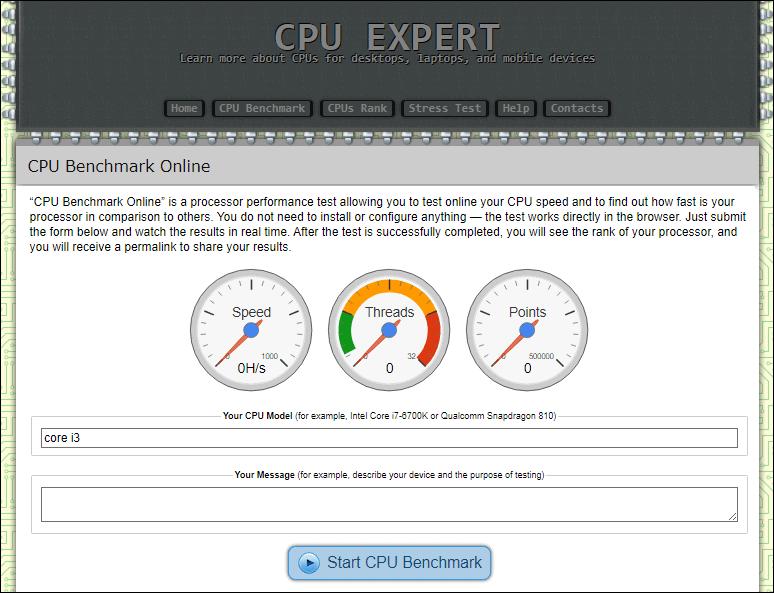 CPU Expert