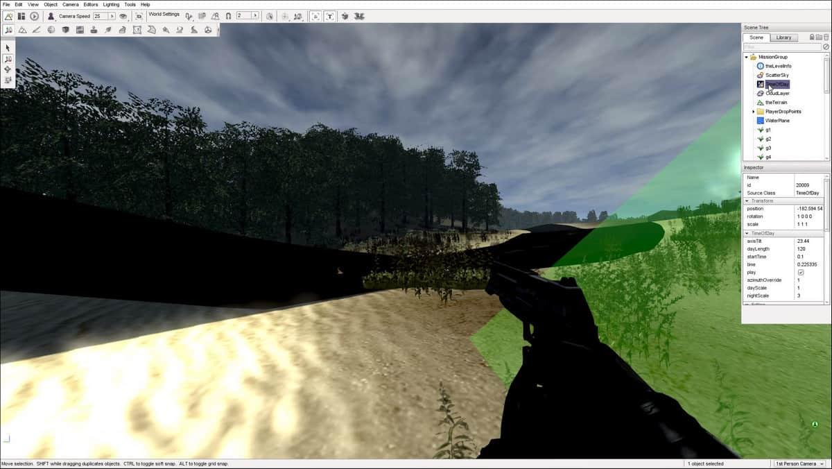 движок по созданию игры Torque 3D