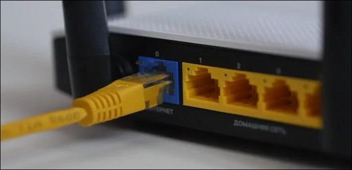 подключение к интернет через кабель