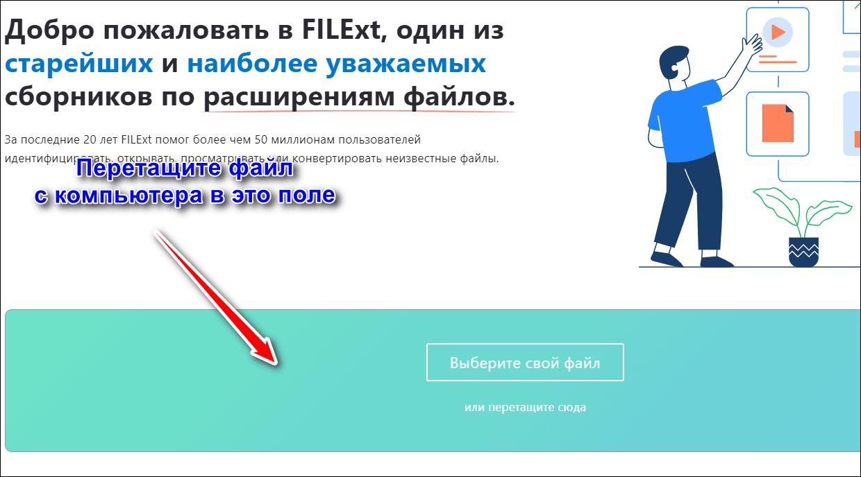 добавление файла в filext